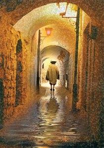 Hasid Alleyway