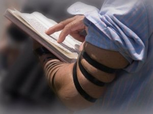 Praying with Tefillin