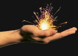 Holding Sparks