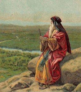 Moses at Nebo