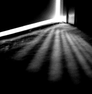 Light under the door