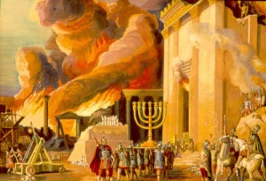 destruction of the temple