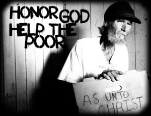 helping the poor