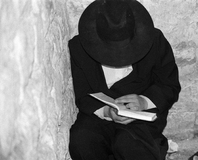 Orthodox Jewish Person