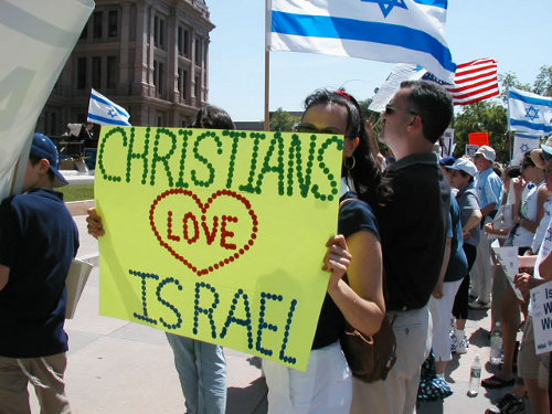 Christians love Israel