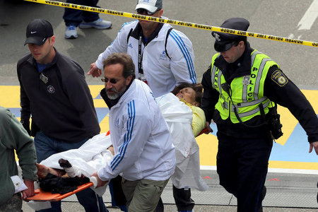 Boston Marathon on Boston Marathon Terror Explosion