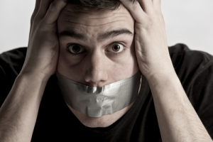 tape-over-mouth