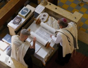 Reading of the Torah at Beth Immanuel