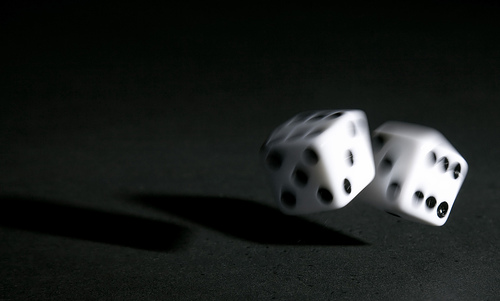 For God Rolled the Dice and the Universe Came to Be ...