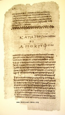 Didache Codex