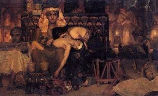 The death of Pharaoh's son