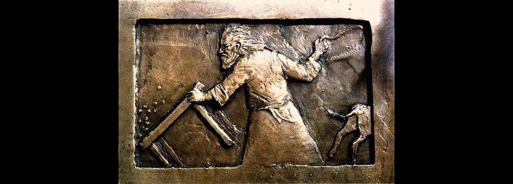 Jesus and the moneychangers
