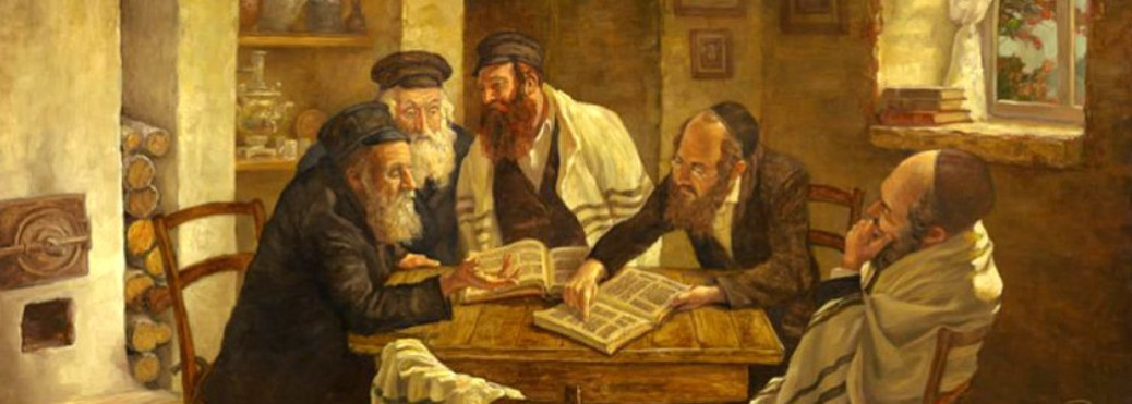 Rabbis discussing