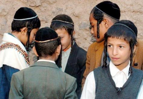 payot on yemeni boys